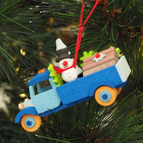 Adorable Christmas truck - Forest Snowman