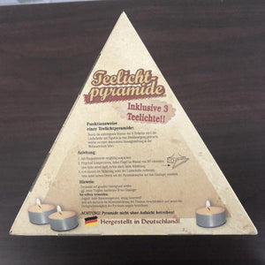 Christmas Pyramid (Medium)- Nativity (Natural)