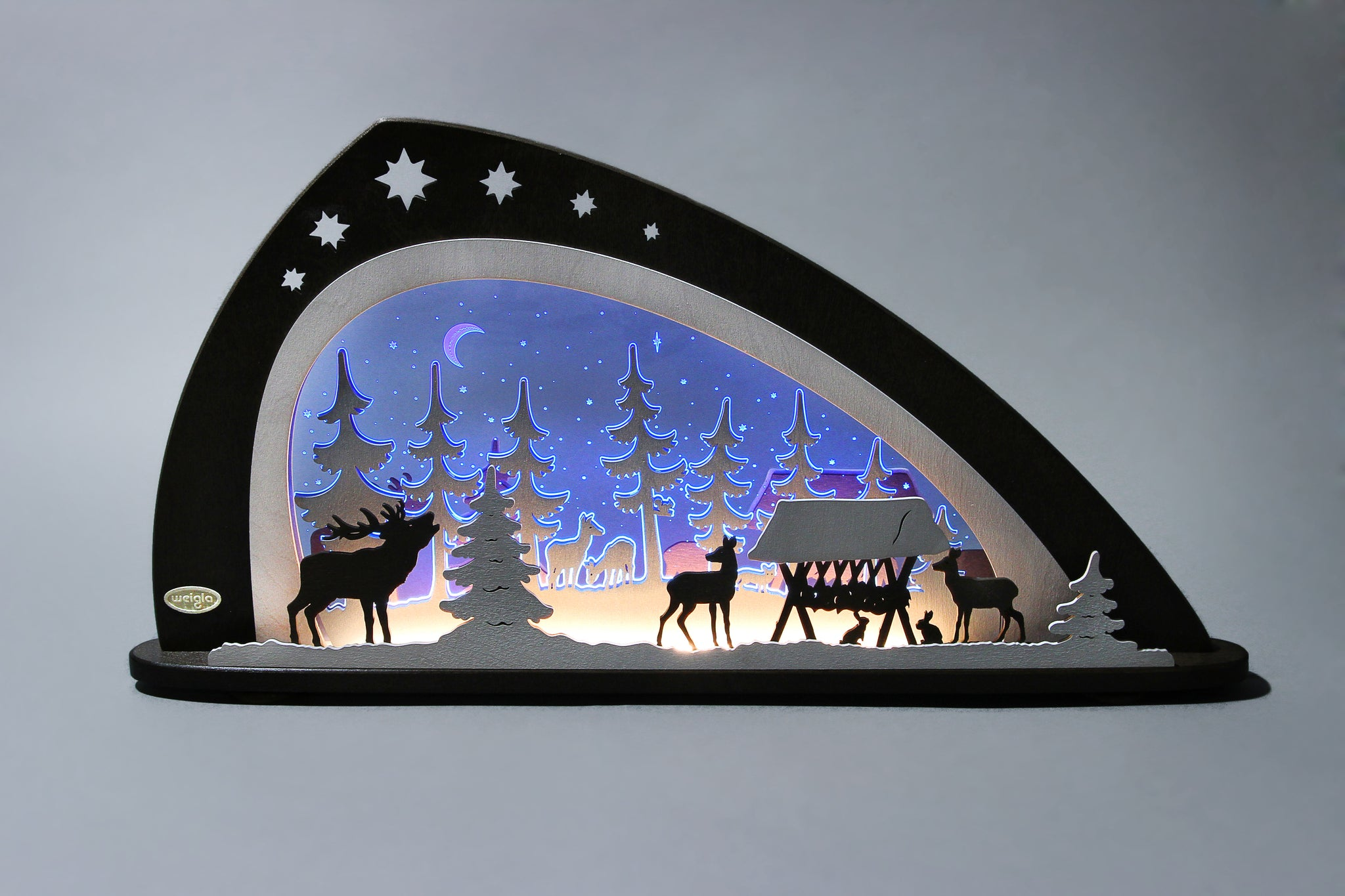 Lighted Arch (Schwibbogan) - Premium - Christmas Forest