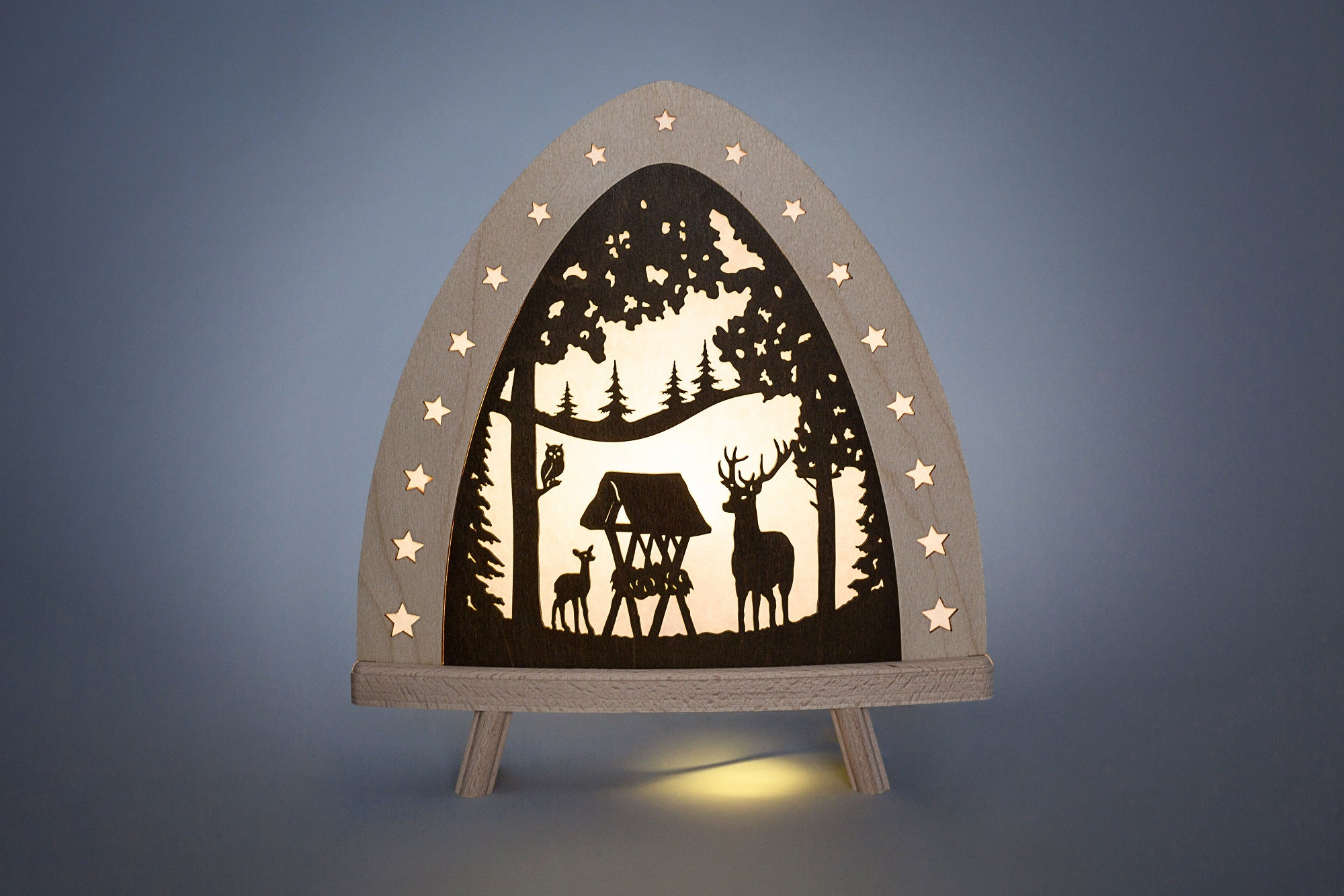 Lighted Arch (Schwibbogan) - Fairytale - Forest