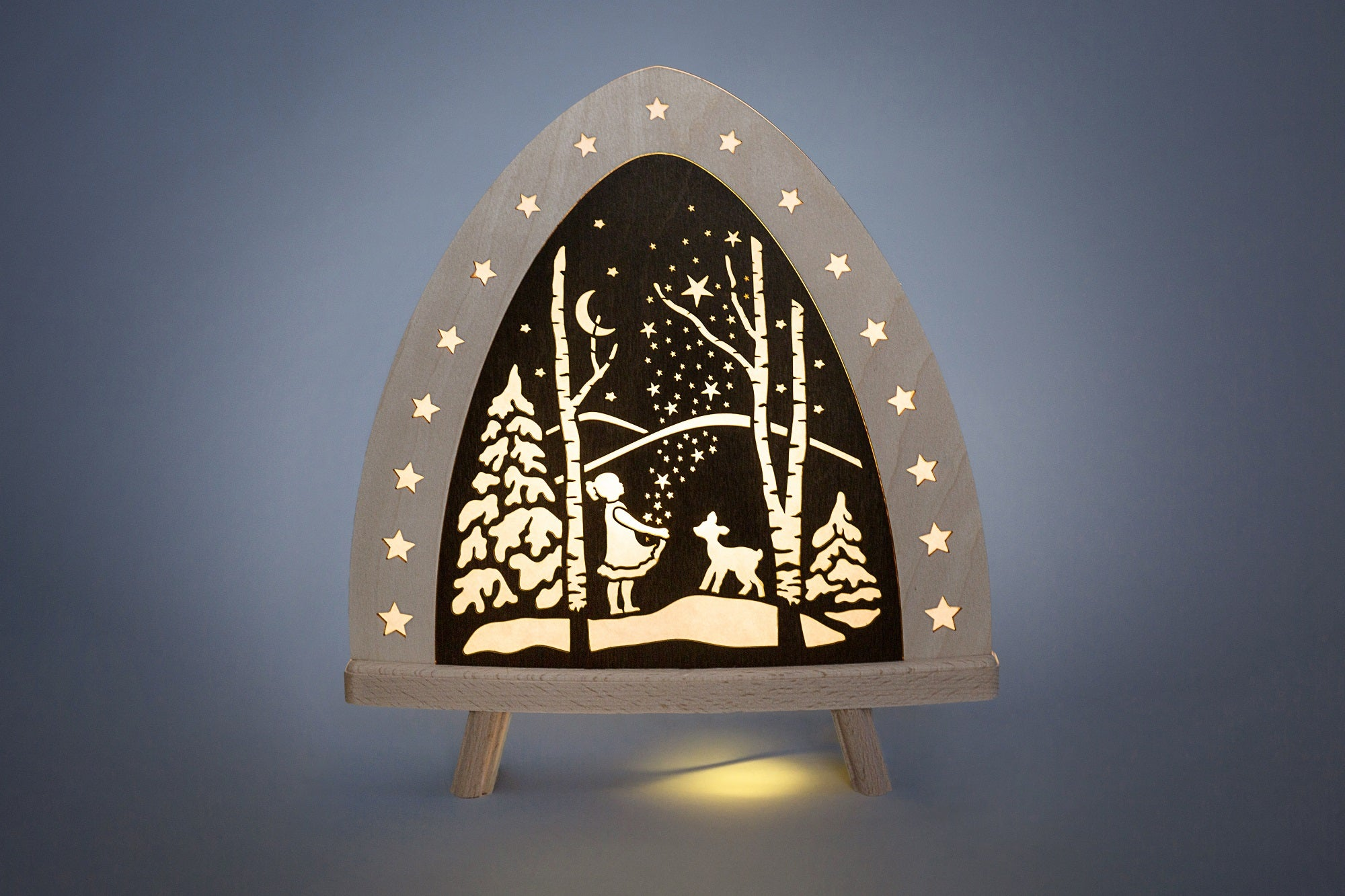 Lighted Arch (Schwibbogan) - Fairytale - Starburst