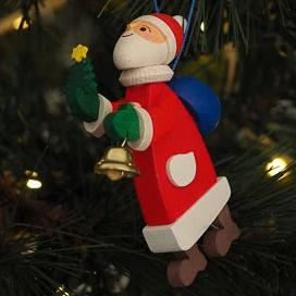 Here Comes Santa Claus - Christmas tree decoration