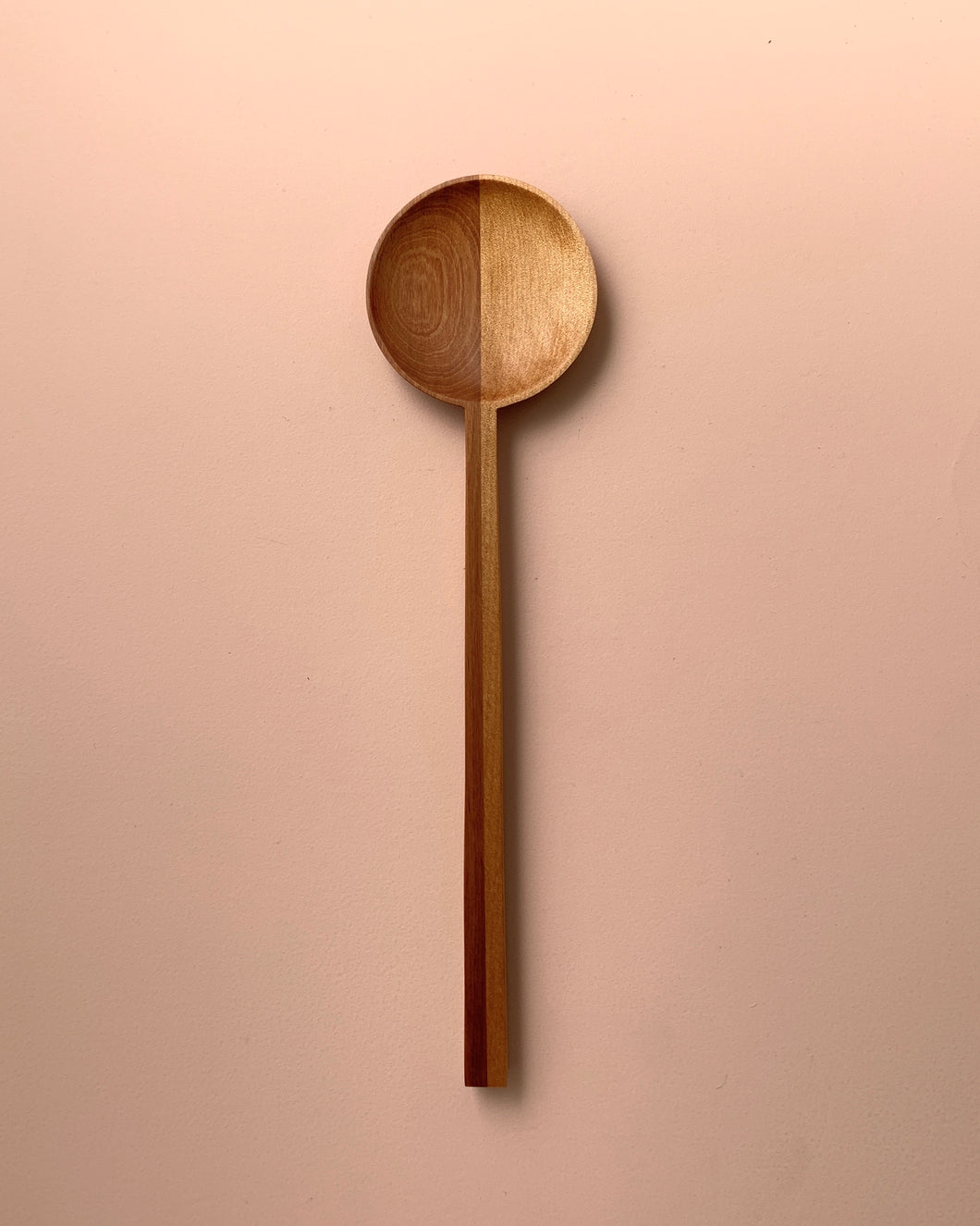 HALF AND HALF ROUND SPOON