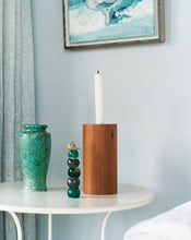 Load image into Gallery viewer, CYLINDRICAL CANDLE HOLDER / TŌTARA