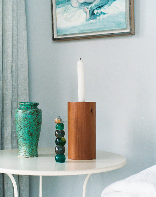 CYLINDRICAL CANDLE HOLDER / TŌTARA