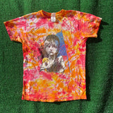 les mis upcycled tie dye shirt - medium