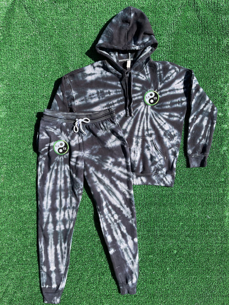 unisex logo patch sweatsuit - small