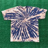 destination epcot upcycled bleach dyed tee - large