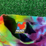 GOOFY VOLLEYBALL upcycled tie dye sweater - medium/large