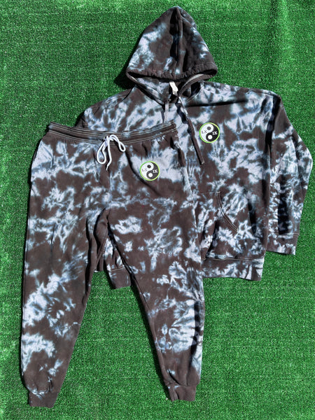 unisex logo patch sweatsuit - XL