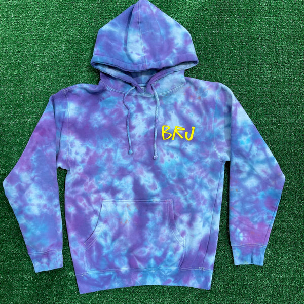 *ULTRA RARE* brj/lxix no strings attached tie dye hoodie - small