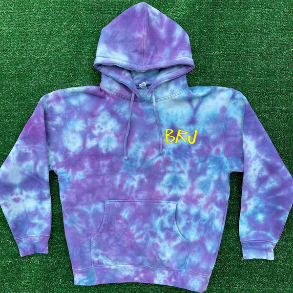 *ULTRA RARE* brj/lxix no strings attached tie dye hoodie - medium