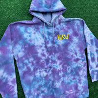 *ULTRA RARE* brj/lxix no strings attached tie dye hoodie - XL
