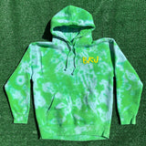 brj/lxix no strings attached tie dye hoodie - medium