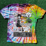 """sora reciprocity"" tie dye tee - medium"