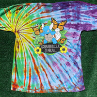 *RARE* wicked/shwartortle dbl sided short sleeve - XL