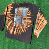 nickelback tour 2007 upcycled bleach dyed shirt - L/XL