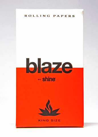 blaze by shine hemp blend rolling papers