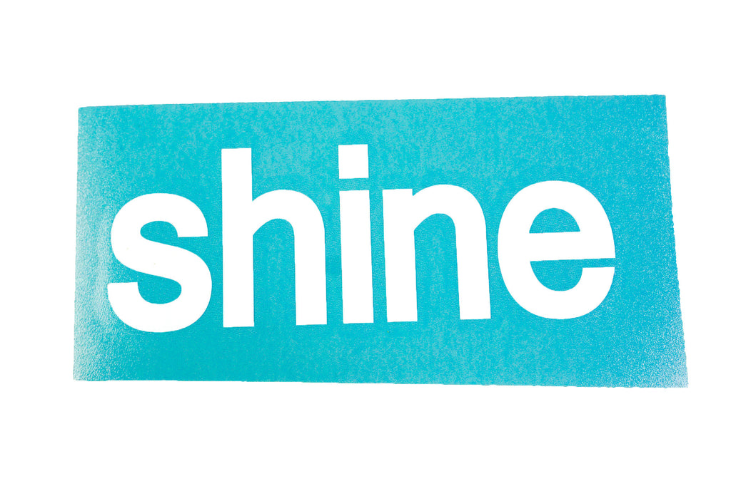 Shine 174 5 Quot Black And White Vinyl Decals Shine Papers