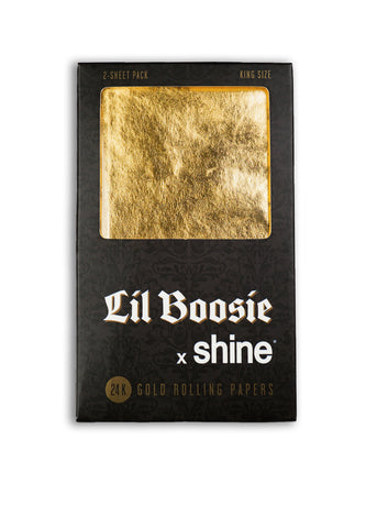 Lil Boosie x Shine® King Size 2-Sheet Pack