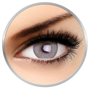 Nightsky Grey colored contact lenses