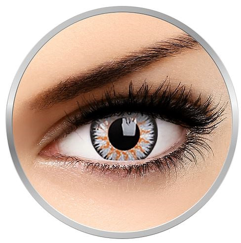Grey Charm colored contact lenses
