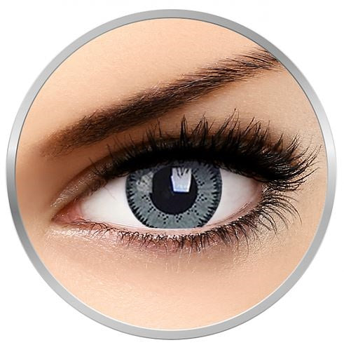 Moda Eyes Vixon Grey colored contact eyes