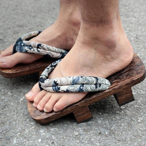 Traditional Japanese Geta Footwear