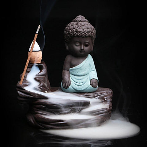 Backflow Buddha Incense Burner