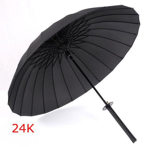Katana Handle Windproof Sword Umbrella