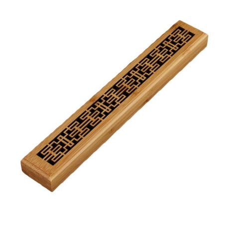 Traditional Wooden Incense Holder