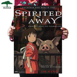 Studio Ghibli Anime Movie Posters