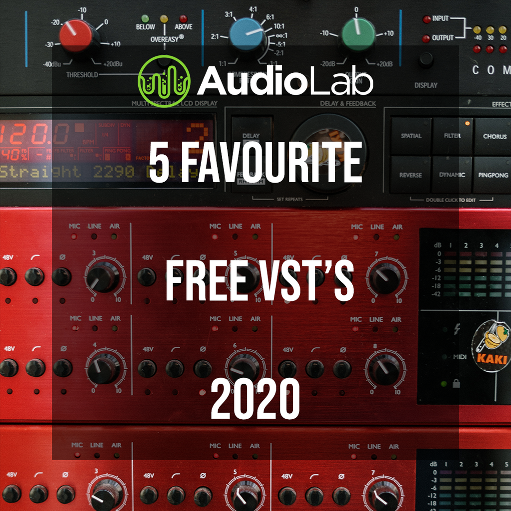 Our 5 Favourite Free VST's 2020
