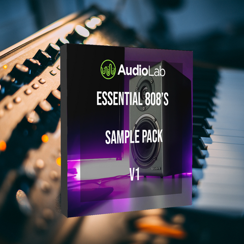 Essential 808's Sample Pack