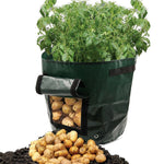 50L Large Capacity Potato Grow Planter PE Container Bag Pouch Tomato Vegetables Garden Outdoor