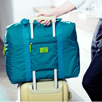 Large Travel Trolley Bag Waterproof Dust proof Storage Bag Luggage Folding Storage Containers