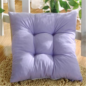 Home Garden Office Sofa Chair Seat Soft Cushion Pad Pure color Pillow Outdoor