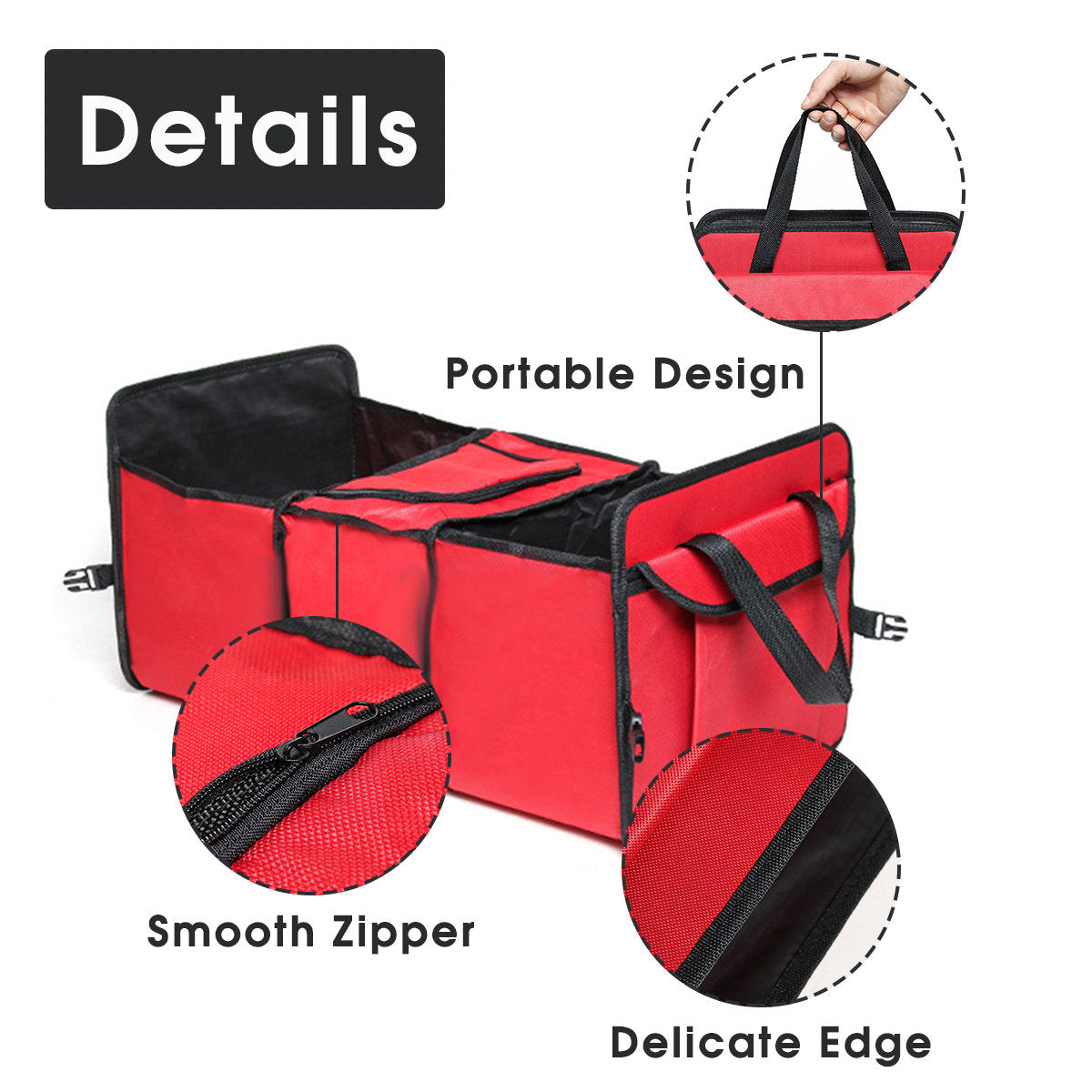 Foldable Car Insulation Package Trunk Storage Box Storage Box Car Ice Storage Bag