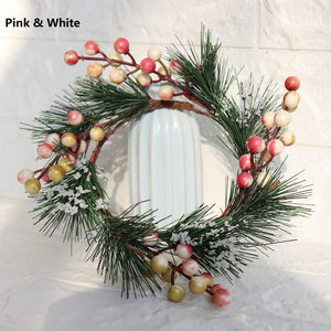 Christmas Decoration Candlestick/Candle Holder Ring ornament