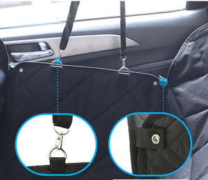 Back Seat Dog Hammock Black