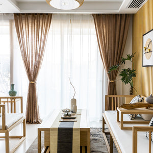 Japanese natural color linen curtain panel,custom drapes,window treatment