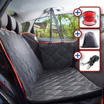 Quilted mesh waterproof 600D Oxford cloth rear dog cushion with zipper middle zipper hammock car pet pad