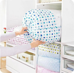 Portable Organize Non-woven Fabric Clothing Quilt Storage Bag Box
