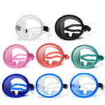 Wide Vision Diving Goggles Anti-Fog Silicone Water-proof Snorkeling Goggles