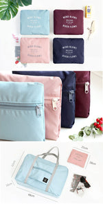 Large Travel Bag Waterproof Storage Bag Luggage Folding Handbag Shoulder Bag Storage Containers