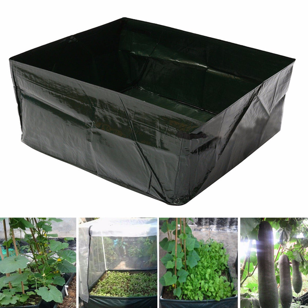 Eco-friendly Waterproof Garden Vegetables Grow Planter Bag PE Container Bag Pouch