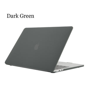 Frosted Surface Matte Hard Cover Laptop Protective Case For Apple MacBook