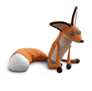 Sweet Fox Plush Doll Stuffed Cartoon Toys