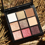 4 Colors Smoky Eyeshadow Palette Lasting Shimmer Matte Eye Shadow Palette Eye Makeup Cosmetic