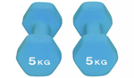 Women's Health Neoprene Dumbbell Set - 2 x 5kg
